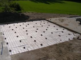 betonilaatan valu